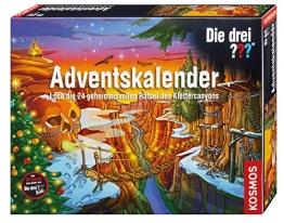 Die drei Fragezeichen Adventskalender 2015 - Rätsel des Klettercanyons