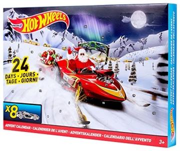 Weihnachtskalender Hot Wheels.Hot Wheels Adentskalender 2015 Fahrspaß In 24 Türchen