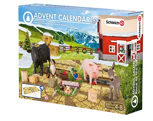 schleich adventskalender 2015 bauernhof pferde feen. Black Bedroom Furniture Sets. Home Design Ideas