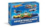 Craze 13908 - Hot Wheels Adventskalender, mit Spielzeug, Autos, Sticker -