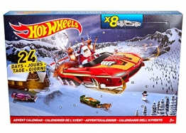 Hot Wheels Mattel DMH53 - Adventskalender 2016 -