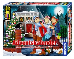 KOSMOS 630973 - Die drei !!! Adventskalender -