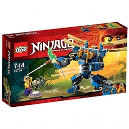 LEGO Ninjago 70754 - Jay's Elektro - Mech, 2 Minifiguren mit Ausrüstung und Zubehör -