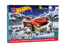 Mattel Hot Wheels CBL07 - Adventskalender 2014 -