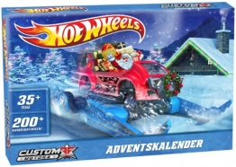 Mattel W8981 - Hot Wheels Adventskalender -