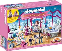 PLAYMOBIL 9485 Adventskalender Weihnachtsball im Kristallsaal -
