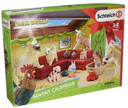 Schleich 97700 - Adventskalender Farm World 2018 -