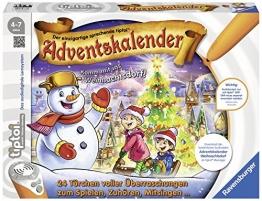 tiptoi® Adventskalender: Komm mit ins Weihnachtsdorf! -