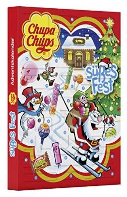 Chupa Chups Adventskalender Süßes Fest, die Alternative zum Kalender mit Schokolade, 24 Überraschungen zu Weihnachten 2018 -