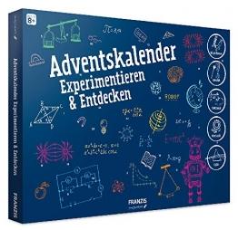 FRANZIS young Explorer Adventskalender Experimentieren & Entdecken 2018 | 24 Physik-Experimente für die Adventszeit | Ab 8 Jahren -