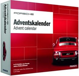 PORSCHE Adventskalender 2018 | In 24 Schritten zum Porsche Modellauto unterm Weihnachtsbaum | Ab 14 Jahren -