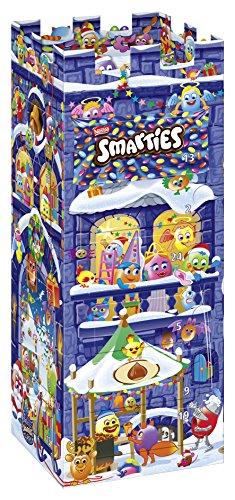 Smarties bunter Adventskalender mit Schokolade & Pralinen gefüllt, 1 x 227 g -