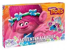 Craze 57347 Trolls Adventskalender, Mehrfarbig - 1