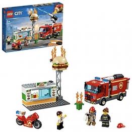 LEGO City 60214 Feuerwehreinsatz im Burger-Restaurant - 1