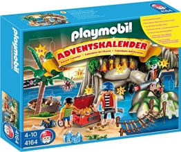 Playmobil 4164 - Adventskalender Piraten-Schatzhöhle - 1