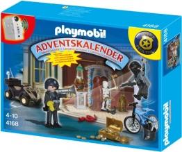 Playmobil 4168 - Adventskalender Polizeialarm! Schatzräuber auf der Flucht - 1