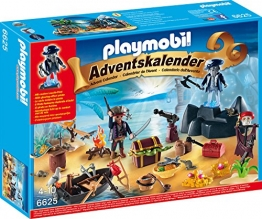 Playmobil 6625 - Adventskalender Geheimnisvolle Piratenschatzinsel - 1
