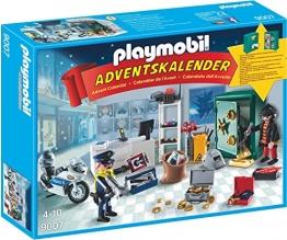 Playmobil 9007 - Adventskalender Polizeieinsatz im Juweliergeschäft - 1
