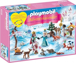 Playmobil 9008 - Adventskalender Eislaufprinzessin im Schlosspark - 1