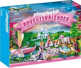 PLAYMOBIL Adventskalender 70323 Königliches Picknick im Park, Für Kinder ab 4 Jahren - 1