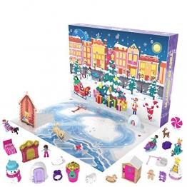 Polly Pocket GKL46 - Polly Pocket Adventskalender zum Thema Winterwunderland mit 25 Überraschungen - 1