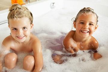 Was tun, wenn das Kind nicht baden will