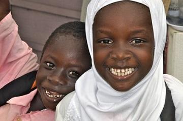 Patenschaft für ein Kind in Afrika