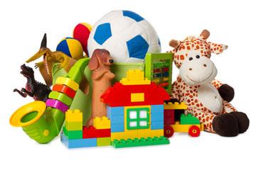 Spielzeug für das Kind auswählen