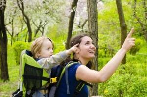 Wanderausflug mit Kind