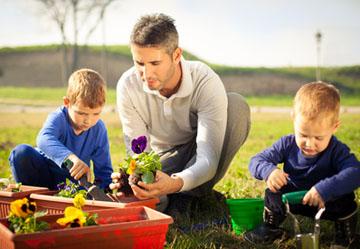 Den Garten mit Kindern gestalten