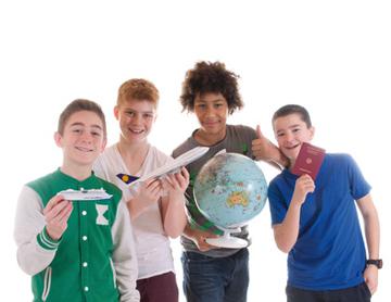 Schüleraustausch um die Sprache zu verbessern