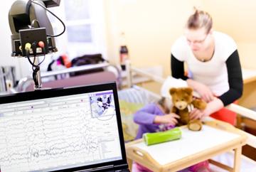 Epileptische Anfälle bei Kindern