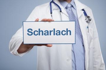 Symptome für Scharlach bei Kindern
