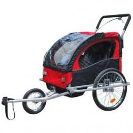 2 in 1 Jogger Fahrradanhänger Fahrrad Anhänger Transportwagen - 1