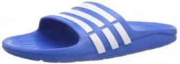 adidas Duramo Slides, Jungen Dusch- & Badeschuhe, Blau (Bahia Blue S14/Running White Ftw/Bahia Blue S14), 31 EU - 1