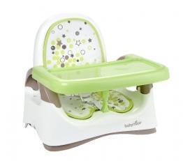 Babymoov A009006 kompakte Sitzerhöhung, braun/mandelgrün - 1
