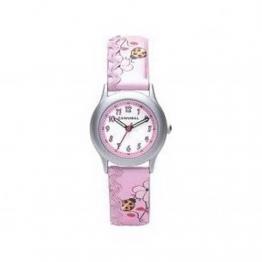 Cannibal Mädchen-Armbanduhr Analog Kunststoff pink CK176-14 - 1