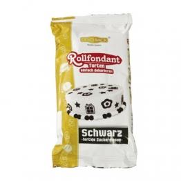 Dekoback Rollfondant Schwarz, -er Pack (1 x 250 g) - 1