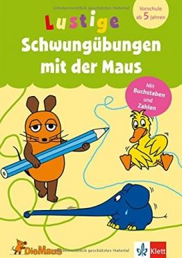 Die Maus -  Lustige Schwungübungen mit der Maus: Mit Buchstaben und Zahlen. Vorschule ab 5 Jahren (Lernen mit der MAUS) - 1