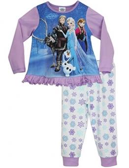 Disney Die Eiskönigin Mädchen Die Eiskönigin Schlafanzug 140 - 1