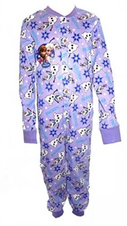 Disney Frozen Mädchens All in One Sleepsuit Onesie Alter 5-6 Jahre - 1
