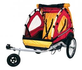 Fahrrad-Kinder-Anhänger Kiddy Van 101Plus mit Schiebeeinrichtung - 1
