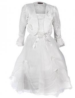 Festliches Mädchen Kleid in 4 Varianten (2 /86/92, #63 Weiss 2) - 1