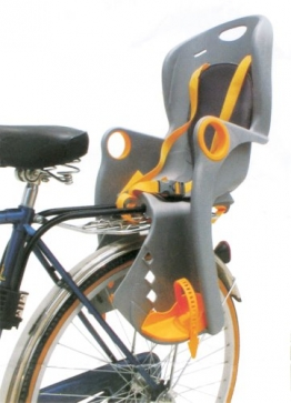 Filmer Fahrrad-Kindersitz 46.899, TÜV/GS, mit Rahmenhalterung - 1