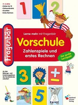 Fragenbär Vorschule: Zahlenspiele und erstes Rechnen (Lerne mehr mit Fragenbär) - 1