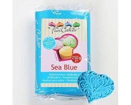 FunCakes Fondant Blau / Sea Blue 250 g - Rollfondant - 1