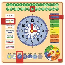 Jumbo D51309 - Kalender-Uhr - 1