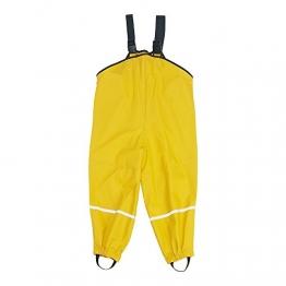 Kinder Regenlatzhose gelb Gr.140 - 1