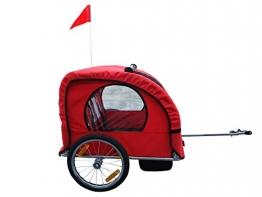 Kinderanhänger Fahrradanhänger Kinder Fahrrad Anhänger Einsitzer Transporter NEU - 1