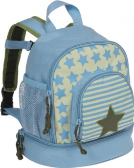 Lässig 4Kids Mini Backpack Kindergartenrucksack Hellblau - 1